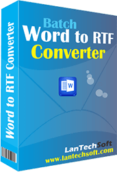 Windows 7 DOCX TO RTF Converter 3.1.1.22 full