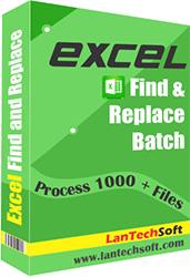 Excel Search & Replace