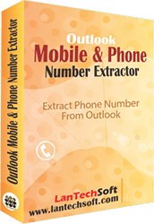 Outlook Phone Number Extractor full screenshot
